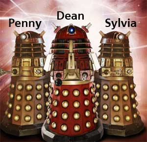 My work colleagues sound like 'The Daleks' from Doctor Who! Cool!