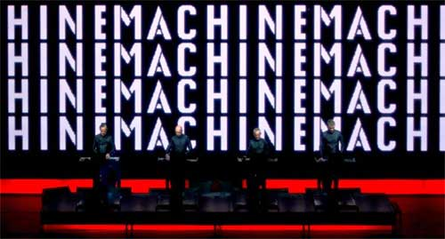 If you have ever heard Kraftwerk, then you will know what I am talking about when I say that it sounds like they've moved into my head.